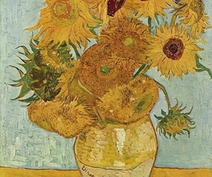 sunflower, art, and van gogh image