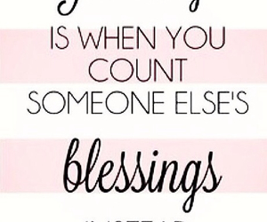 quotes, blessing, and jealousy image
