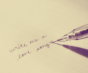 love, text, and song image