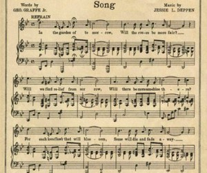 music, song, and vintage image