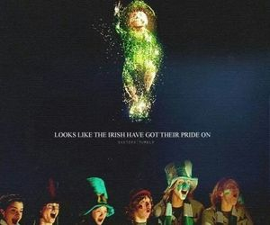 harry potter, leprechaun, and pot of gold image