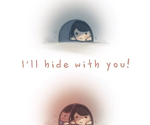 hide and love image