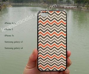 iphone 4s, iphone 5s case, and gray chevron image