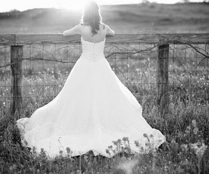 girl and wedding image