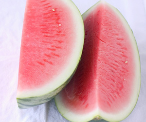 delicious, healthy, and watermelon image