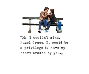 the fault in our stars, love, and tfios image