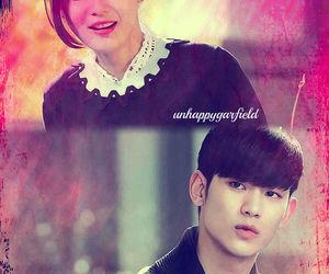 jeon ji hyun, kim soo hyun, and love image