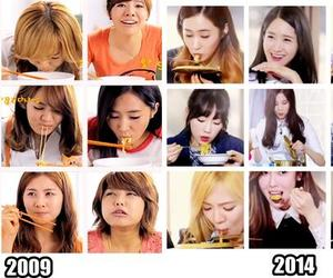 2009, eating, and snsd image