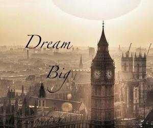 london, Dream, and england image
