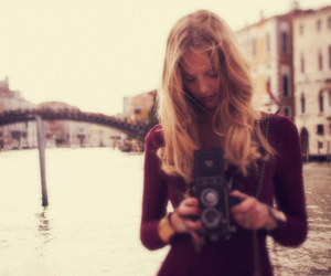 girl, model, and photography image