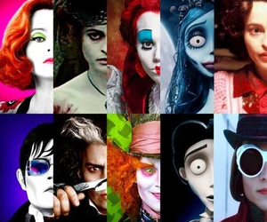 johnny depp, helena bonham carter, and movies image