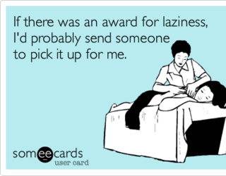 Lazy, funny, and laziness image