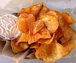 chips and food image