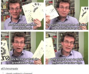 john green, the fault in our stars, and tifos image