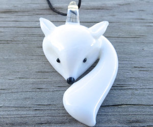 etsy, fox, and jewelry image