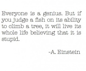 albert, genius, and quote image