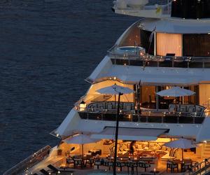 yacht and luxury image