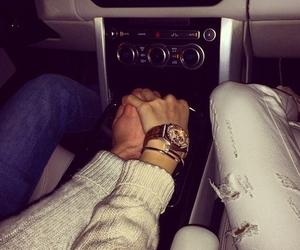 couple, holding hand, and cute image