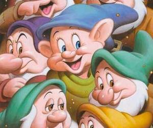 art, dwarfs, and pixar image