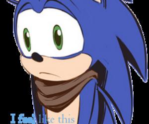sad, sonic, and sonic boom image