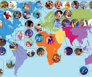 disney, princess, and world image