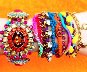 accessories, colors, and bracelets image