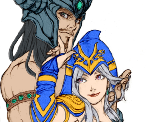 ashe, league of legends, and love image