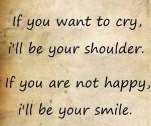 cry, quotes, and shoulder image