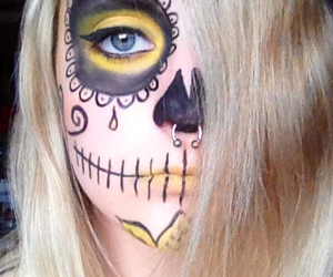 makeup and sugarskull image