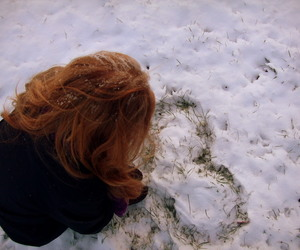 cold, ginger, and girl image