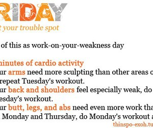 friday, get fit, and workout image