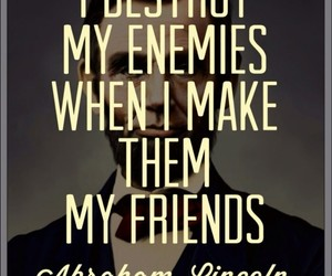 friends, enemy, and quote image