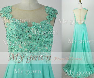 dress, evening gown, and prom dress image