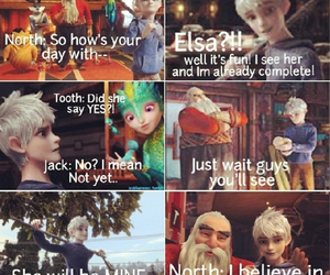 jack frost, santa claus, and rise of the guardians image