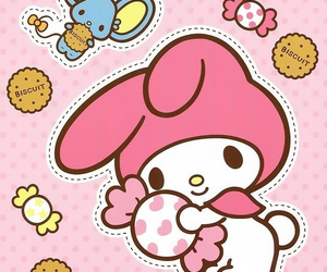 cookie, my melody, and sanrio image