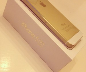 iphone, love, and iphone 5s gold image