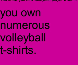 player, tshirts, and volleyball image