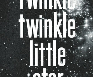 stars, twinkle, and quote image