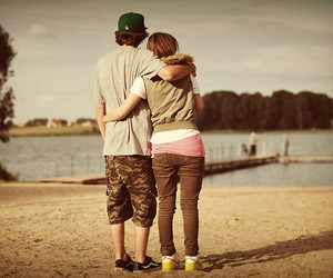 couple, love, and love :t image