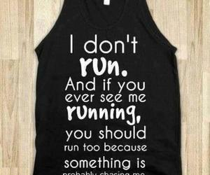 run, funny, and running image