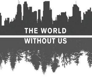 world, city, and nature image