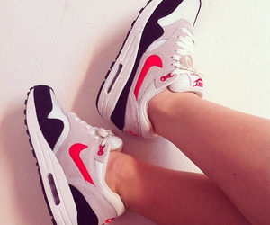 air max, dope, and girl image