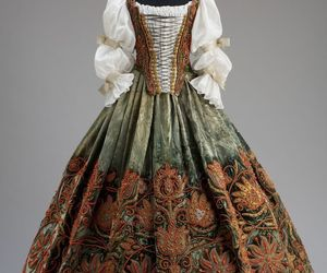 17th century, dress, and gown image