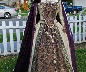 cloak, dress, and gown image