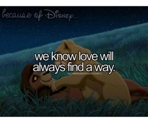 disney, love, and because of disney image
