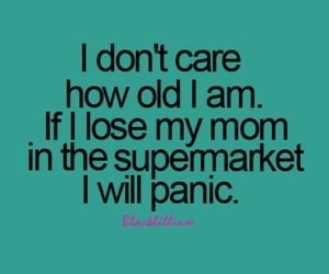mom, panic, and supermarket image