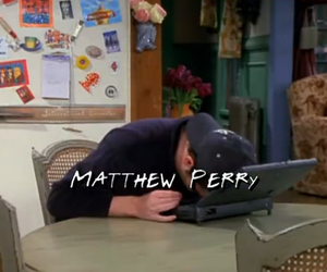 friends, Matthew Perry, and chandler bing image