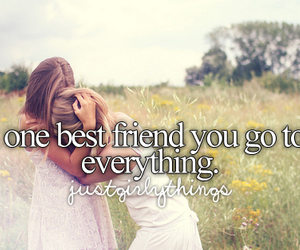 best friends, friends, and justgirlythings image