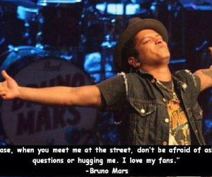 fans, bruno mars, and love image