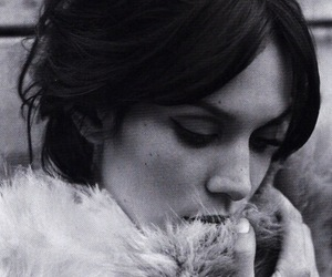 alexa chung, black and white, and model image